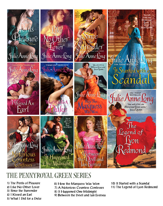 Pennyroyal Green Series 1-11